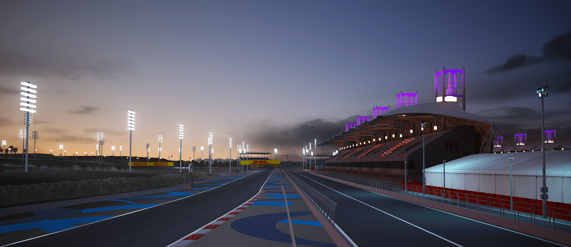 Assetto Corsa Custom Shaders Patch Track Lights